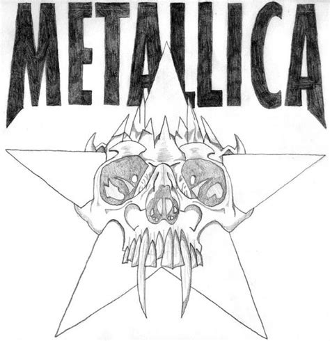 metallica coloring pages coloring pages