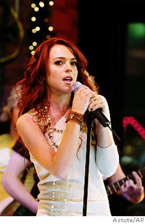 Lindsay Lohan May Be Getting Ready For Second Album In by Lindsay Taking A Rock Y Road Ny Daily News