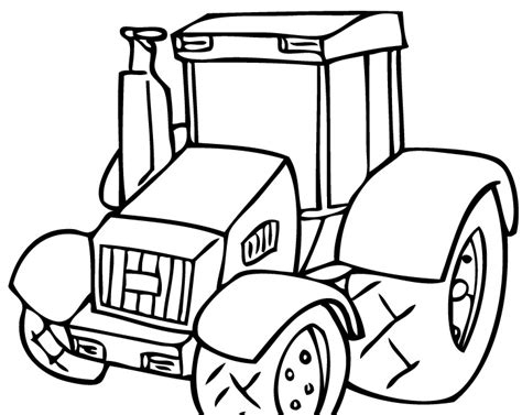 coloring page tractor printable tractor coloring pages coloring me