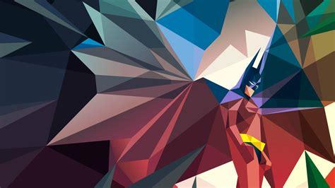 wallpaper batman low poly comics low poly batman wallpapers hd desktop and