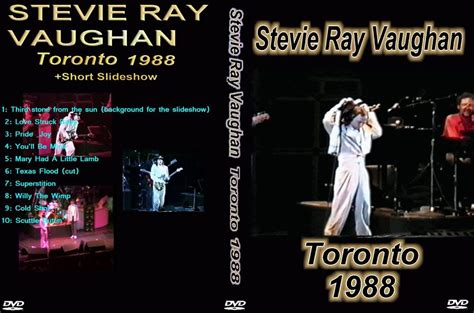 stevie ray vaughan double trouble    maple leaf garden toronto canada
