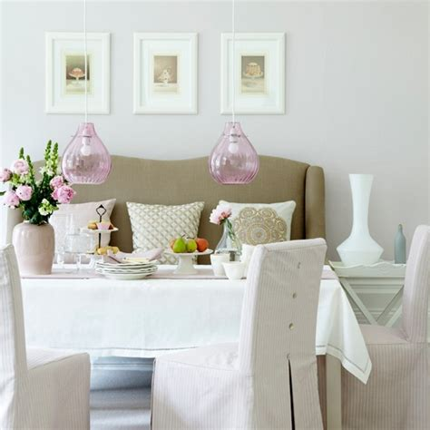 couch in dining room soft pink dining room traditional dining room