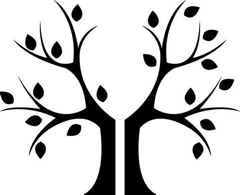 tree stencil template bare tree template cliparts co