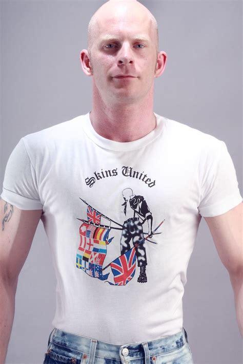 tshirt skinhead skins united t shirt