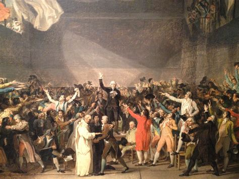 tableau of major events in fichier serment du jeu de paume jacques louis david jpg