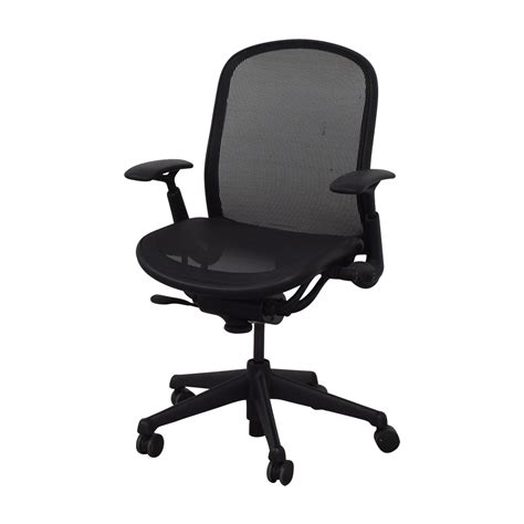 Rolling Chair - 76 knoll knoll black rolling office chair chairs