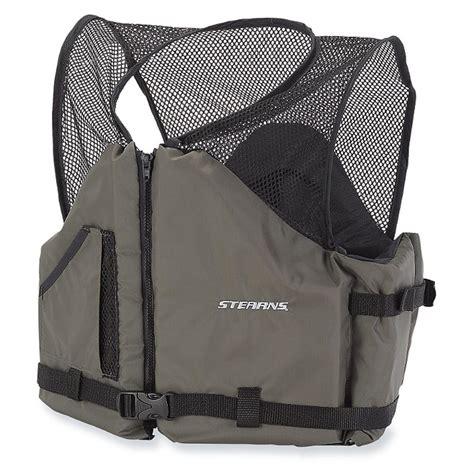 stearns comfort series life vest stearns 174 comfort series vest 178398 ski paddle vests