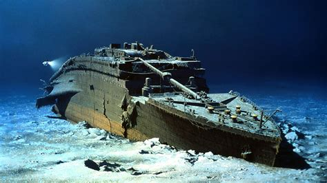 the wreck of the titanic wreck photo