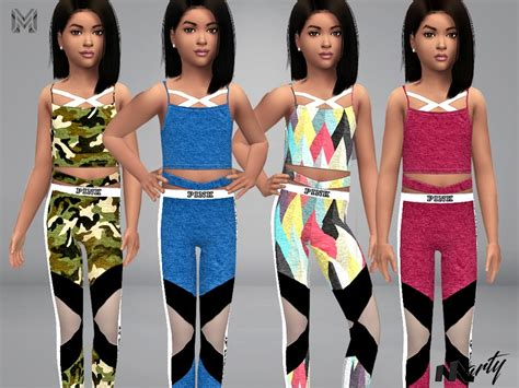 tsr sims 4 clothes sports martyp s mp electra sport outfit child