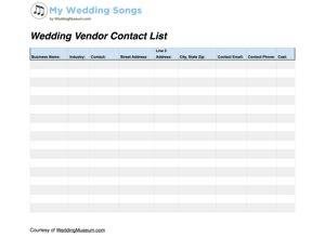 Wedding Song List Worksheet by Wedding Worksheets Tools My Wedding Songs
