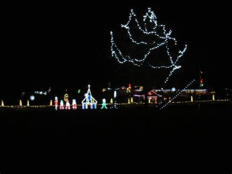 christmas lights picture of denton farm park denton