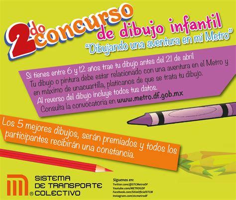 convocatoria de mexico en dibujo para el 2016 convoca stc a ni 241 os y ni 241 as a participar en concurso