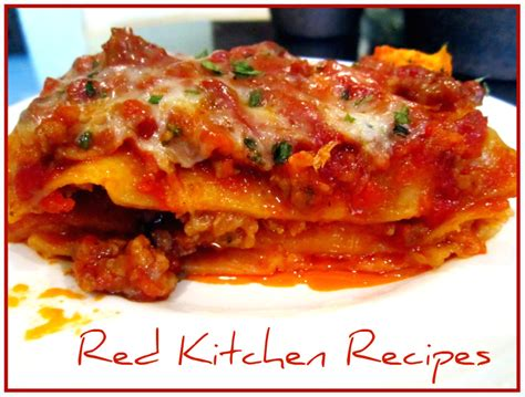 lasagna without ricotta or cottage cheese kitchen recipes no ricotta lasagna
