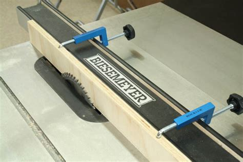 universal table saw fence rockler universal cl it kit review tool box buzz tool