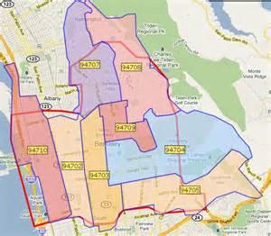 berkeley california zip code map berkeley 94703 the zip code in the nation