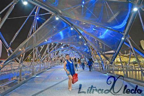helix bridge the helix bridge at 헬릭스 브리지 싱가포르 사진 트립어드바이저