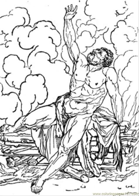 Hercules Greek Mythology Coloring Pages Coloring Pages Myth Coloring Pages