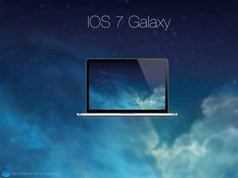 Hp Iphone 7 Widescreen ios 7 galaxy by blackdiamondone on deviantart