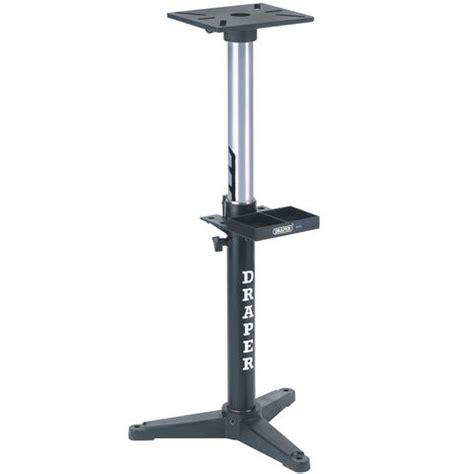 stand for bench grinder draper ag101 adjustable bench grinder stand machine mart