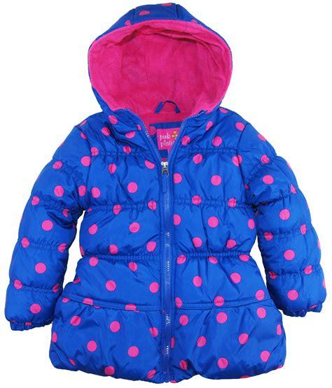 Oz Sweater Polka Abu pink platinum big polka dots hooded puffer winter jacket coat