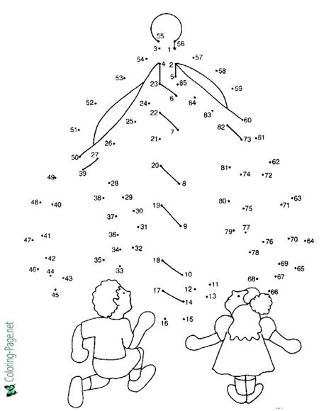 free printable dot to dot bible christmas tree connect the dots for kids