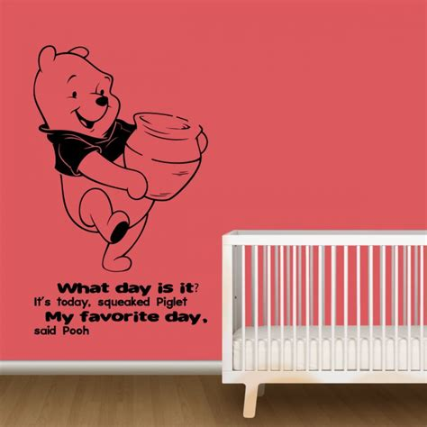 Nursery Quotes Wall Decals Nursery Wall Decals With Quotes By Pooh By Artollo