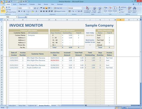 invoice tracking spreadsheet template image gallery invoice tracking spreadsheet