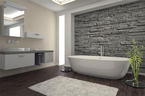 esempi di bagni cool bagni moderni vasca design parete muratura with