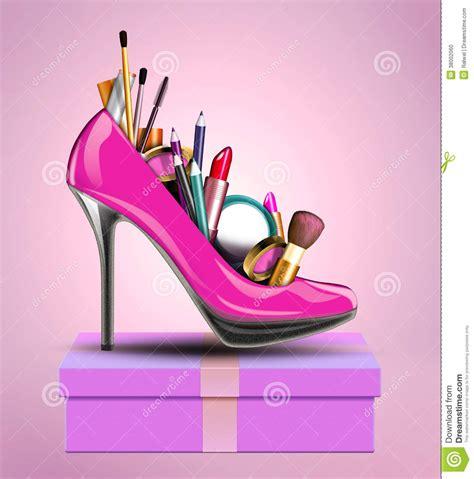 imagenes de zapatos para fondo de pantalla los cosm 233 ticos fijaron en el zapato de una mujer que se