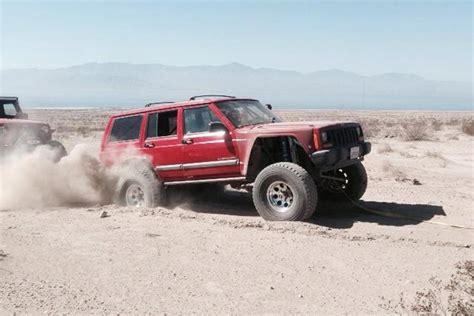 prerunner jeep desert bound jeep a 1998 cherokee goes prerunner off