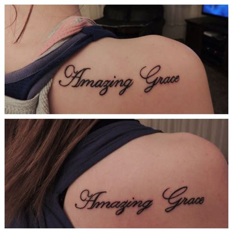 amazing grace tattoo amazing grace tattoos
