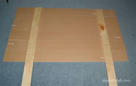 mdf headboard headboard wooden planks diy with style