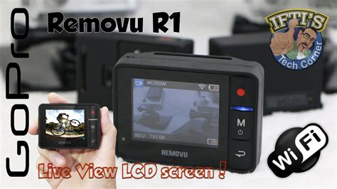 Jc02 Removu R1 Live View Remote For Gopro Hero3 Hero3 Hero4 removu r1 gopro remote lcd live view screen review