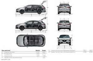 Renault Megane Estate Dimensions Renault Megane 4 2016 Carissime L Info Automobile