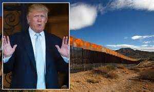 Us taxpayers will put up money for wall but it will be paid back by