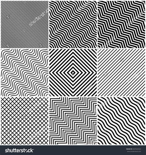 design line work background simple slanted black lines background set stock vector