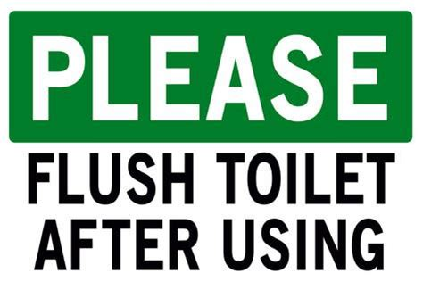 Toilet Paper Funny by Please Flush Toilet Sign Print Poster Prints At Allposters Com