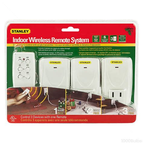 stanley 51164 wireless light controllers 3 pack