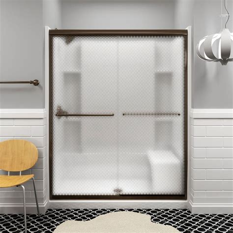 sterling bathtub door sterling finesse 47 5 8 in x 70 1 16 in semi frameless