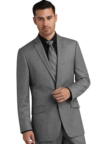 mens warehouse wedding marc ecko gray tic slim fit suit men s