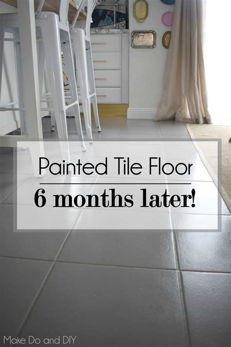 Painting Ceramic Tile Floors Kitchen   Gougleri.com