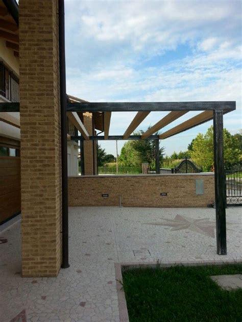 tettoia esterna carpenteria civile industriale piegatura e taglio delle
