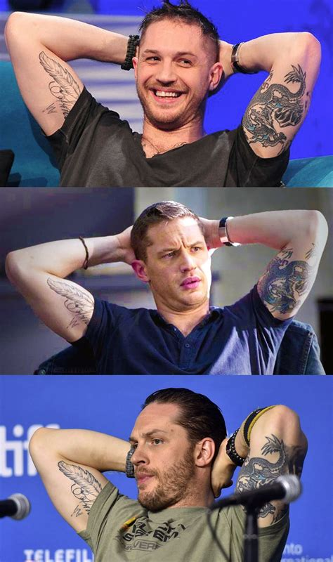 tattoo ink variations tom hardy variations about some of tom s ink every