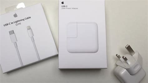 iphone  fast charger unboxing    adpater youtube