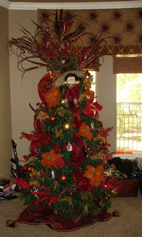 decorated cowboy tree cowboy tree picture decorating