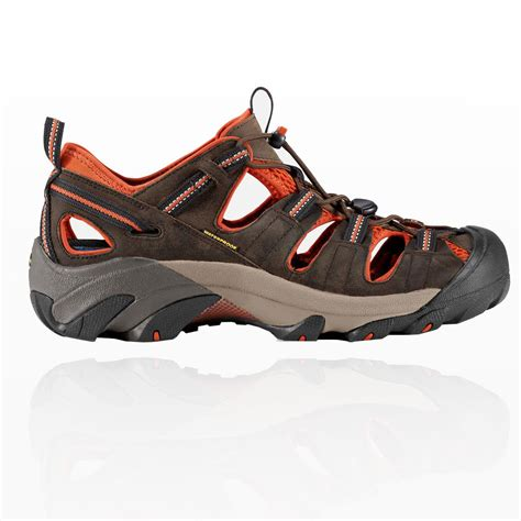 mens waterproof sandals keen arroyo ii mens brown waterproof breathable outdoor