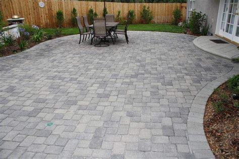 driveway pavers review cost type  pictures patio