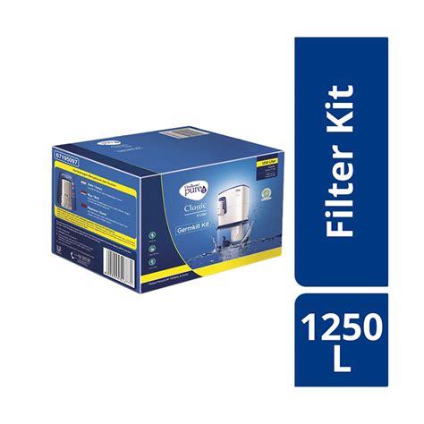 Penjernih Air Unilever It Germkill Kit 1500lt jual unilever pureit germkill kit filter classic 5l 1250l