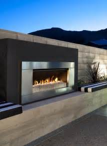 outdoor modern fireplace gas and wood outdoor fireplaces escea new zealand