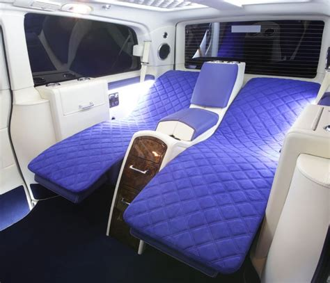 van bed 57 best images about mercedes v class on pinterest leather tan leather and playstation